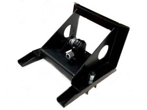 10202 – Wheel carrier for 10 stud wheel. Steel.