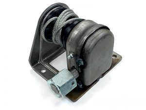 10801 – Lifting Winch. Lifting winch square base 108-A series. Steel.