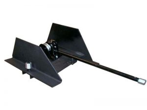 11501 – Wheel carrier for 10 stud wheel with stretch tube. Steel.