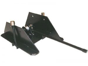 11502 – Wheel carrier for 10 stud wheel with stretch tube. Steel.