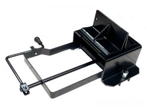 11603 – Wheel carrier for 10 stud wheel, model under crossbar with crank. Steel.