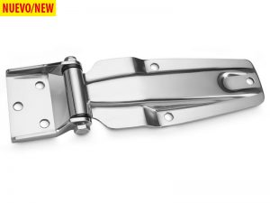 20280 I – Side Door Hinges 202 series. Length of 252 mm Stainless steel.