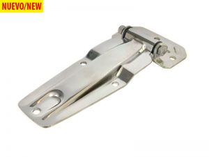 20285 I – Side Door Hinges 202 series. Length of 238 mm. Stainless steel.