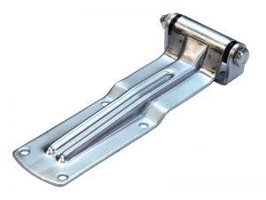 20502 Z – Rear Door Hinges 205 series with bracket to bolt-on. Length of 250 mm. Steel.