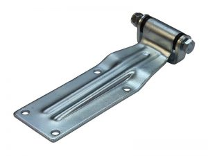 20520 Z – Rear Door Hinges with bracket to bolt-on 205 series. Length of 233 mm. Steel.