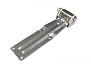 20603 I – Rear Door Hinges with bracket to bolt-on 206 series. Length of 310 mm. Stainless steel.