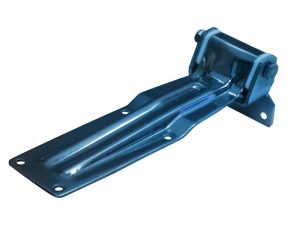 20604 Z – Rear Door Hinges with bolt-on angular bracket to bolt-on, 206 series. Length of 310 mm. Steel.