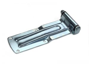 20902 Z – Rear Door Hinges with bracket to bolt-on 209 series. Length of 280 mm. Steel.