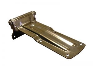 20904 I – Rear Door Hinges with bolt-on angular bracket to bolt-on, 209 series. Length of 280 mm. Stainless steel.
