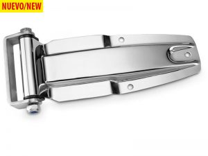 21903 I – Rear Door Hinges with bracket to weld on 219 series. Length of 275 mm. Stainless steel.