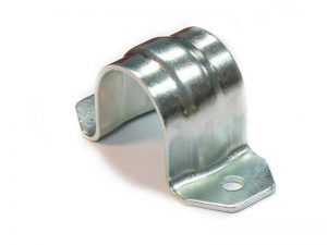 300305 Z – Abrazadera sencilla para tubo de Ø21,3 mm. Acero.