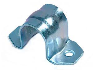 300306 Z –  Abrazadera sencilla para tubo de  Ø25-27 mm. Acero.
