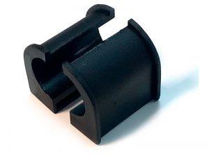 300411 -Semicasquillo para tubo Ø21,3. Nylon.