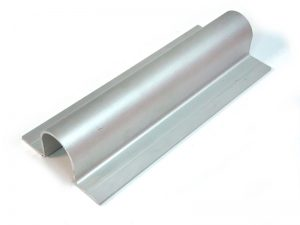 300805 – Cubrefallebas de aluminio para tubo de Ø21,3/22/25 mm
