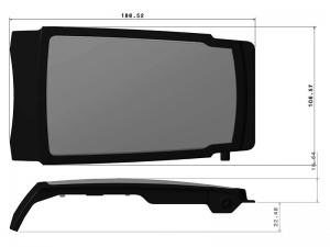 302211 I – Tapa Maneta. Tapa Inoxidable+ Fibra de Vidrio modelo 341.
