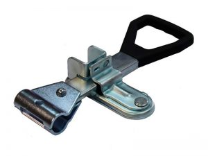"30321 Z – Handle Container locks ""DELTA Type"" series, suitable for use with Ø21,3 mm tube. Steel."