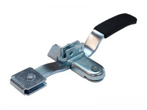 "30420 Z – Handle Container locks ""Flat Handle Type"" series, suitable for use with Ø20 mm tube. Steel."