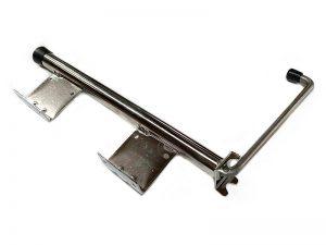 40404 I –  Door retainer semi-trailer series. Stainless steel.