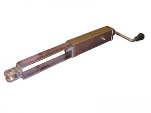 50202 – Mechanical parking brake without plate. Steel.