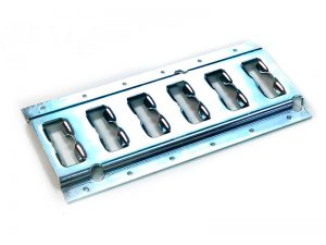 "63014 – Load Restraint Cargo Track. Heavy-Duty ""Universal"" Load restraint track of 132×3.050 mm. Steel."