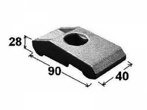 62401 – Big mounting clamp for chassis.