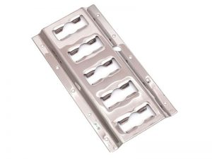"63013 – Load Restraint Cargo Track. Heavy-Duty ""Universal"" Load restraint track of 132×3.050 mm. Stainless steel."