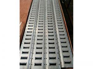 "63010 – Load Restraint Cargo Track. Heavy-Duty ""Universal"" Load restraint track of 130×3.048. Aluminium."
