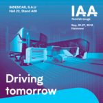 INDESCAR will attend at the IAA exhibition fair which will be held in Hannover  from 20.09.18 to 27.09.18.