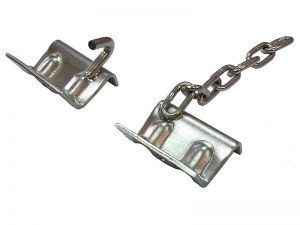 SGC/CC-68 – Accessories for Refrigerator Lorry. Stainless steel support brackets for fixing meat rail with chain.